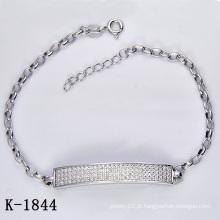 Jóia da forma da prata esterlina 925 (K-1844, K-1845, K-1846, K-1847, K-1848, K-1849)