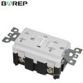 Elektrischer 20A 125V GFCI-Steckdose mit Einzelsteckdose