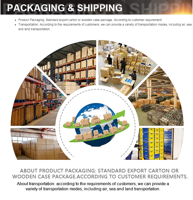 packging and shipping
