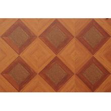 12mm E0 HDF AC4 en relieve cereza cera laminado piso laminado
