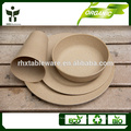 Bamboo fiber kitchen supplies the whole set of tableware
