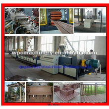 WPC PE Decking Profile Machinery