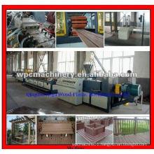 WPC PE Decking Profile Machinery