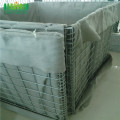 Pabrik Heavy Duty PVC Coated Hesco Barrier