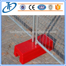 Abnehmbarer temporärer Zaun, Farbe optional, professioneller Hersteller