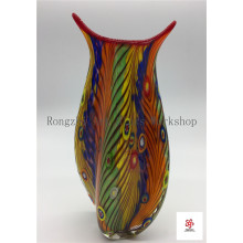 Colorful And Smooth Vase Glass