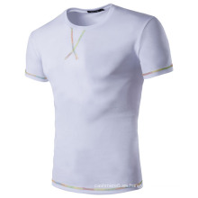 Venta al por mayor Plain White 100% Cotton T Shirts for Men