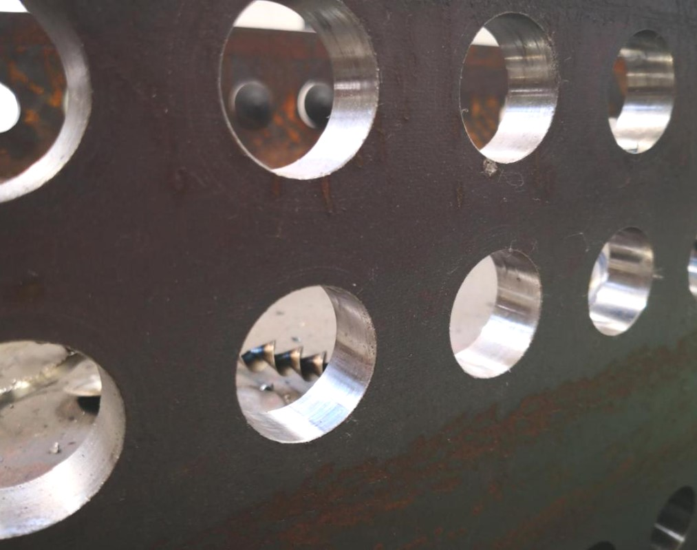 beams with hole