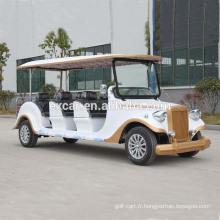 populaire 48V 8 places voiture électrique classique à vendre