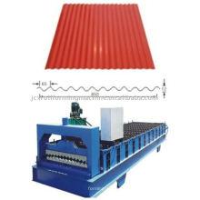Machine à former des rouleaux de toit ondulé