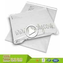 Heiße Verkaufs-Plastikporto-Verpackungs-Gebrauchs-weiße Gewohnheit druckte Polymailer-Beutel-Großverkauf