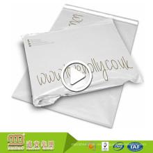Venta caliente Plástico Embalaje Embalaje Uso Blanco Personalizado Impreso Poly Mailer Bolsa Al Por Mayor