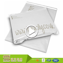 Hot Sale Plastic Postage Packing Use White Custom Printed Poly Mailer Bag Wholesale