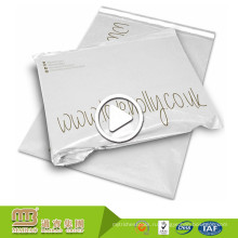 Горячая Продажа Пластиковых Почтовая Упаковка Использовать Белый Таможня Напечатала Поли Mailer Мешок Оптовая