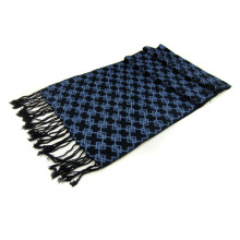 Black Elegant Mens Scarf