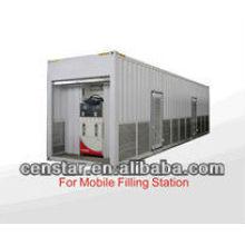 CS40 серии тяжелых потока Топливораздаточная колонка для мобильных бензин staion