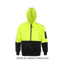 Hohe Sichtbarkeit Wasserdichte Sicherheitsabnutzung, Oxford Sicherheitsjacken, Regen tragen