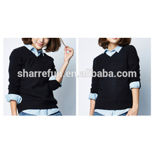100% cashmere ladies stylish sweaters
