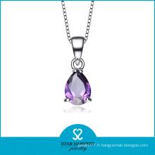 Fabricant de bijoux en cristal à la mode (SH-N0083)