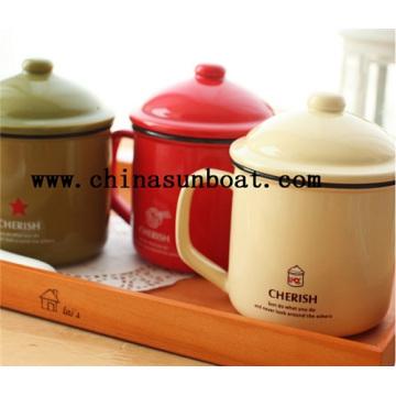 Enamel Carbon Steel Water Mug