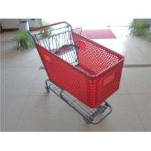 Good Quality and Best Price Plastic Shopping Trolley