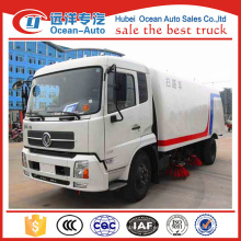 Dongfeng kingrun 4x2 road cleaning machine / road sweeper para la venta