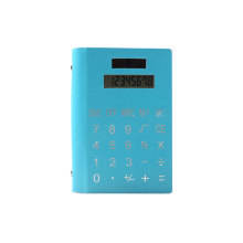 PU 8 Digit Displayed Coil Notebook Calculator