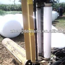 rolo de plástico agricultura fardo de feno envoltório filme de envoltório de silagem