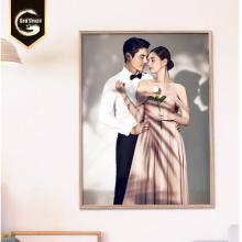 Affichage de cadre photo de mariage