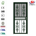 Estate Black Recessed Mount All Season Security Door