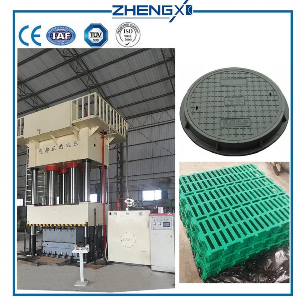 Hydraulic Press for Manhole Cover and Sewer Cover
