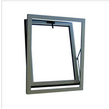 Double Glazing Aluminium Bottom Hung Window Awning Window