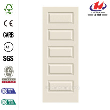 5-Panel  Style Primed Molded Interior Door