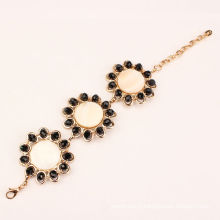 hotselling en alliage et perles design bracelet