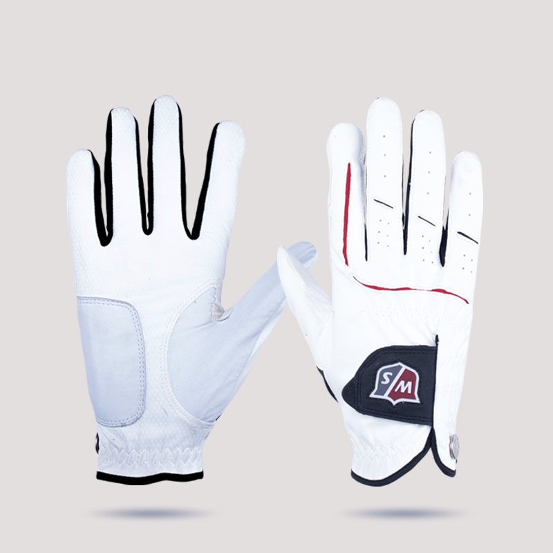 Breathability well golf gloves