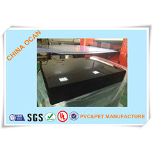 Vacuum Forming Black PVC Rigid Sheet