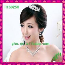 New's Hot Selling nuptiale Tiara strass bijoux à bas prix tiaras nuptiales