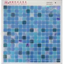Mosaico de vidro Iridium para piscina