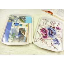 Melamine Rectangular Non-Slip Serving Tray