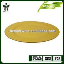 Plaque de service de bambou recyclé