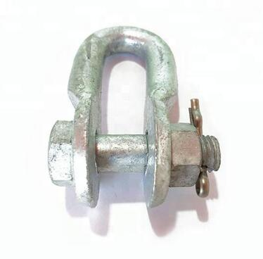 Hot Dip Galvaniserad UL Shackle Connection Fitting