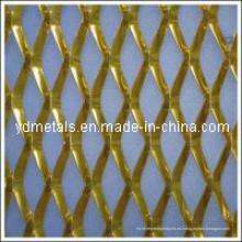 Anodizado metal expandido de aluminio