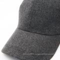 Полиэстер и качество шерсти Теплый ровный серый бейсболка
