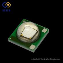 Usine vendent 3w 420nm 3535 type smd led haute puissance AlO cadre
