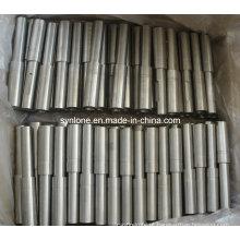 Eixo de forjamento de aço inoxidável com usinagem CNC