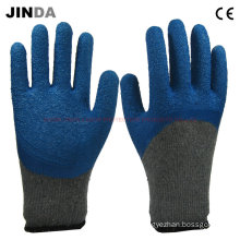 Blue Latex Safety Hand Gloves (LH003)
