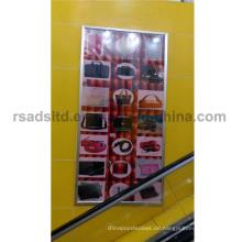 Kundenspezifische Größe LED Slim Bilderrahmen Leuchtkasten