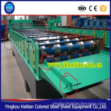 color steel metal trapezoidal roof sheet machine