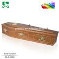pratique cercueil en bois massif JS-UK086 MDF