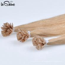 Häutchen ausgerichtet Remy Human Flat Tip Haar